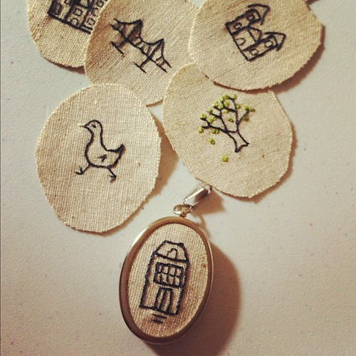 New pendants for the GoMA market on Saturday