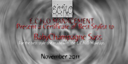 Face of ECHO- nov 2011 winner  by Babychampagne