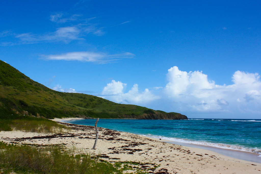 St. Croix пляж