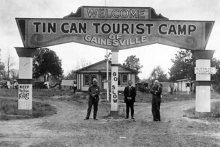 Tin Can Tourists camp: Gainesville, Florida