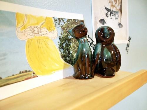 happy shelf - the owl & the pussycat