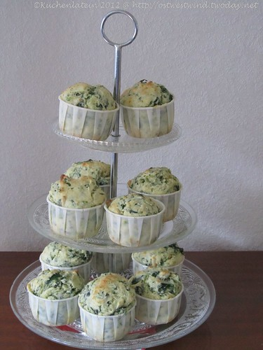 Spinat-Ricotta-Muffins mit Pinienkernen 002