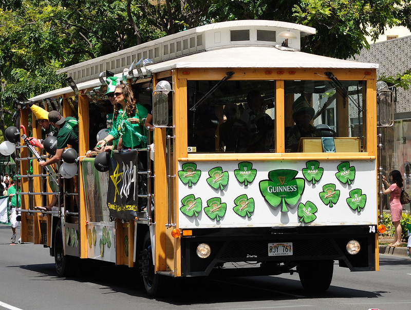 Waikiki St. Patricks Day Parade