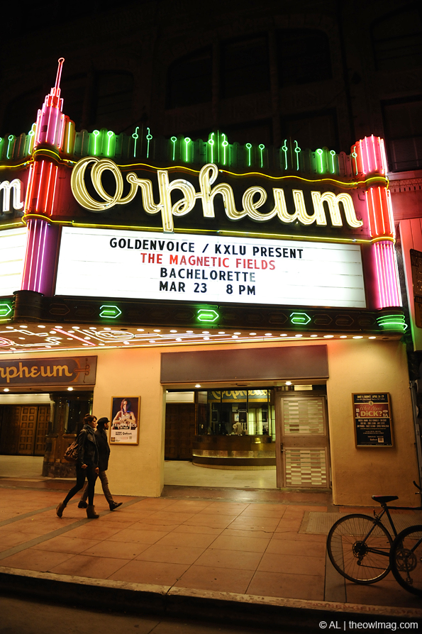 Bachelorette @ the Orpheum, LA 3/23/12