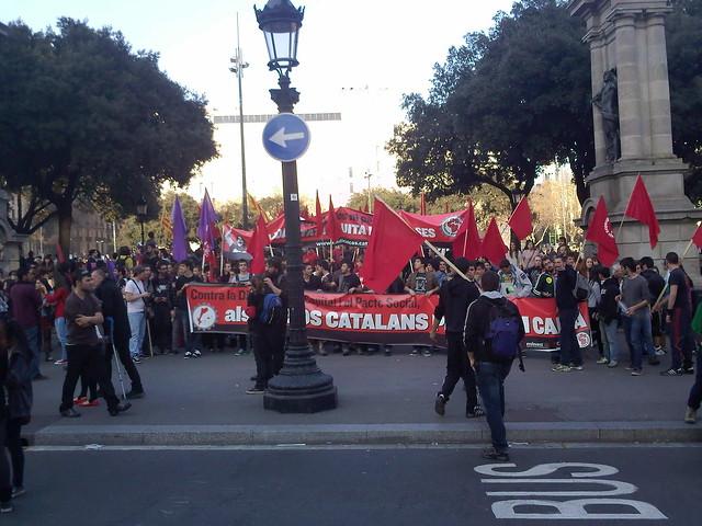 Huelga general #29M Barcelona 29/03/2012