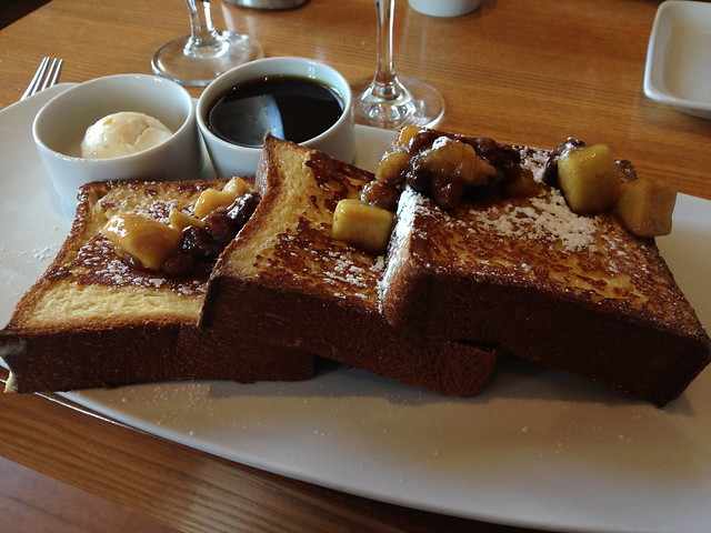 french toast at clink.