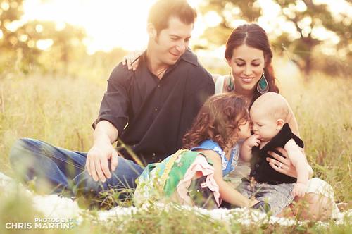Sneak peak of the Gomberg family photo shoot!