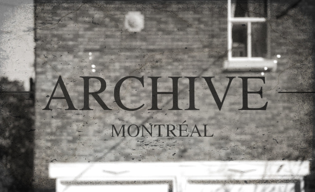 Boutique Archive Montreal