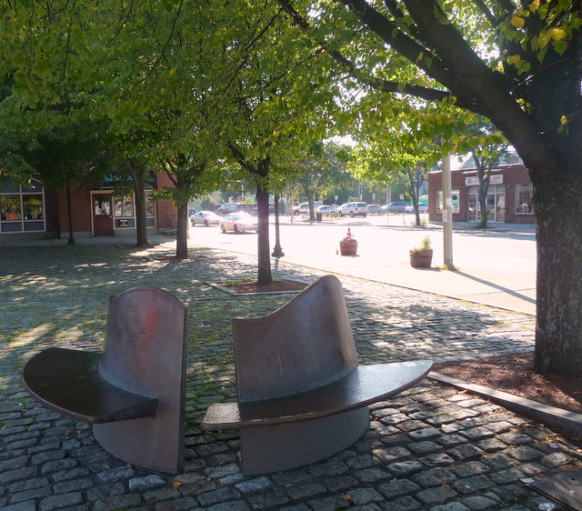 Union Square - Outdoor seating, Somerville, MA