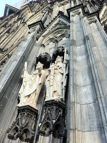 QUÉ HACER EN COLONIA: Detalles de la catedral de colonia - Kölner Dom qué hacer en colonia - 6249160182 ce7d62e2fd - Qué hacer en Colonia, Alemania