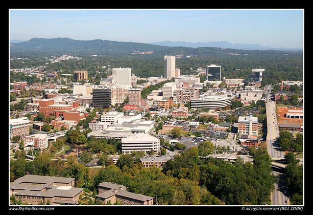 Skyline Of Greenville South Carolina Flickr Photo Sharing