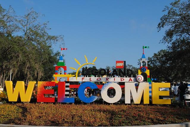 LEGOLAND Florida entrance | Flickr - Photo Sharing!