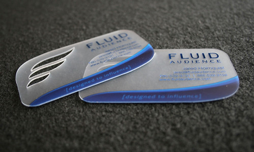 Fluid Audience Business Card 2011