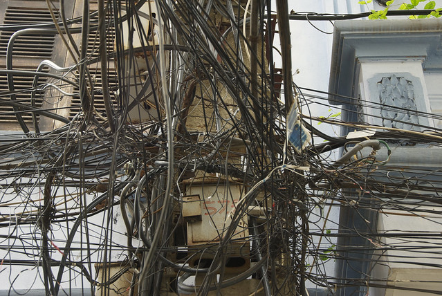 wire madness a gallery on flickr rh flickr com India Electrical Power India Phone Lines