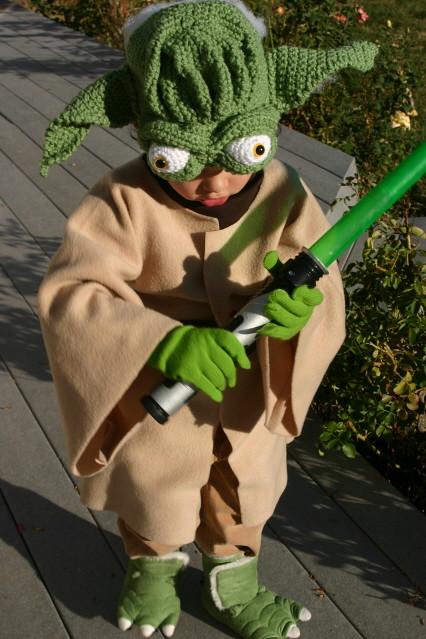 how to make master yoda costume