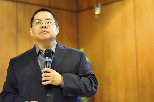 Me speaking at UoT