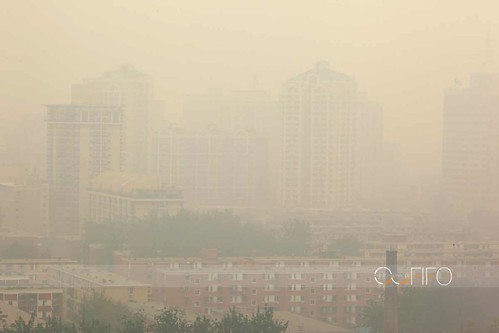 Welcome back in Beijing, how I didn't miss this smog