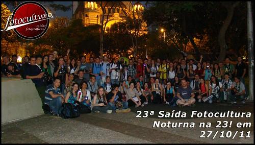 23ª Saída Fotocultura – Noturna na 23! Oficial