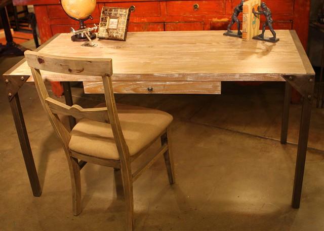 Urban Industrial Desk Reclaimed Wood Top Flickr Photo