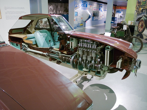 MGB GT Sectioned