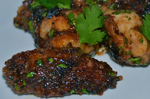 Sweet & Spicy Sticky Wings