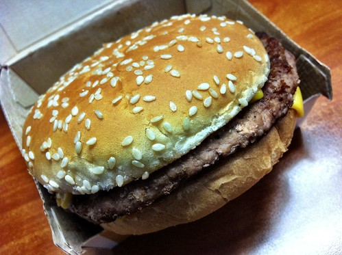 McDonald's Corporation Quarter Pounder with Cheese