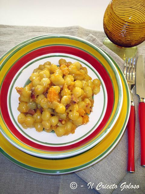 Chicche di patate con zucca