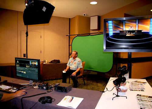 <p>Leeward television production display</p>