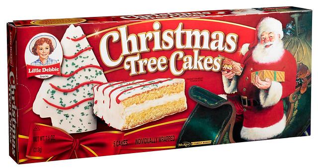 vanilla christmas tree cookies