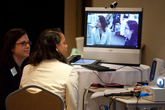 Live telehealth demonstration ...
