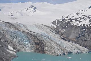 Katmai Glacier im Katmai National Park & Preserve, Alaska