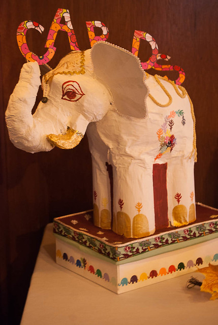 Elephant Card Box