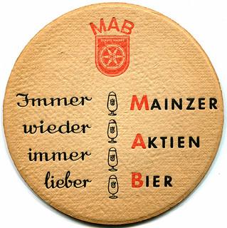 Mainzer Aktien Bier (Reverse)