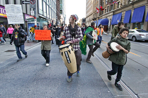 6316720340 487f3ba575 Occupy Toronto: Tunes Against Austerity March (November 5, 2011)