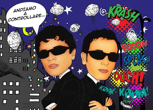 Gigi & Ross by Giuseppe Lombardi