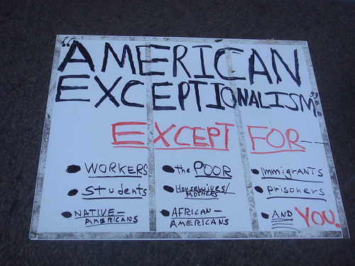 American Exceptionalism Exceptions