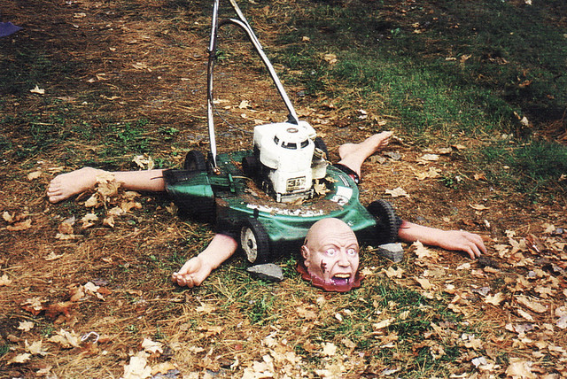 Lawn Mower Accident Flickr Photo Sharing