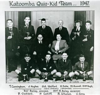 Katoomba Quiz-Kid Team, 1947