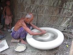 art, potter's wheel,
