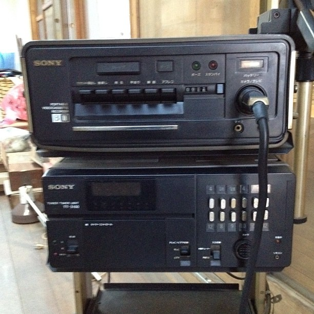 Sony Recording Cameras Sony Beta Camera