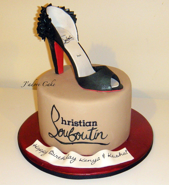 Christian Louboutin Cake Pictures
