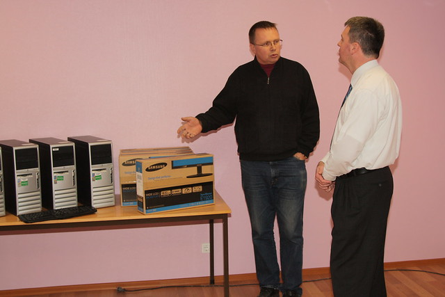 Computer Donation to Sillamäe Children's Center. November 8, 2011