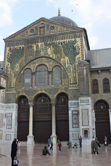 Damascus, Umayyad Mosque, mosaics