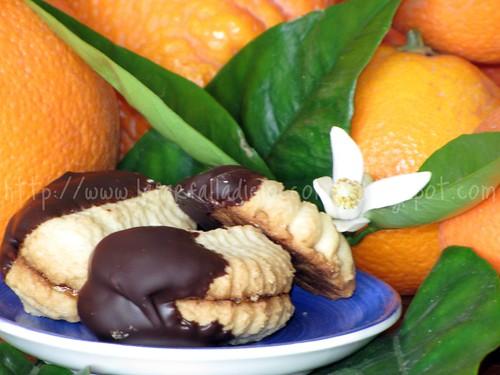 Dessert con amrmallata di arance amare
