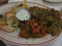 Vegetarian plate 2