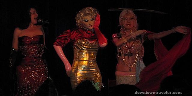 Girls Getaway_LeScandal Cabaret Composite