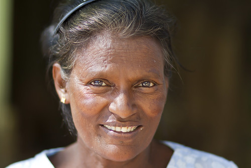 Wisdom in her eyes - Myanmar (Burma)