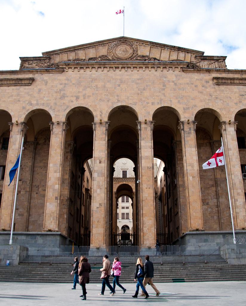 Das Georgische Parlament