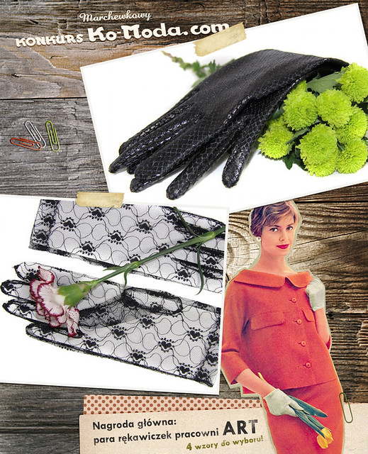 Ko-Moda.com, konkurs, rękawiczki, pracownia ART