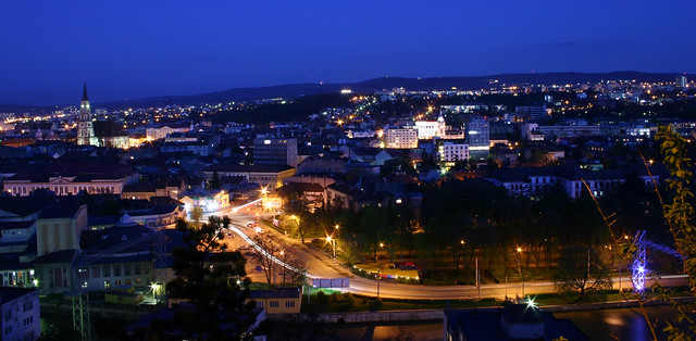 Kolozsvár by night